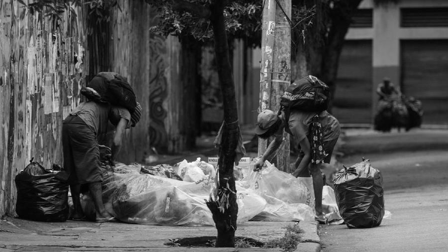 Brasil pobreza Rio de Janeiro la-tinta
