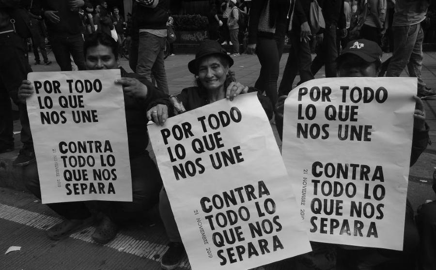Colombia paro gente en las calles la-tinta