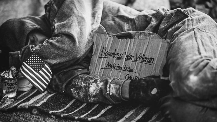 Estados Unidos pobreza veteranos la-tinta