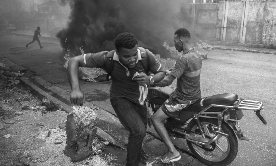 Haiti crisis social la-tinta