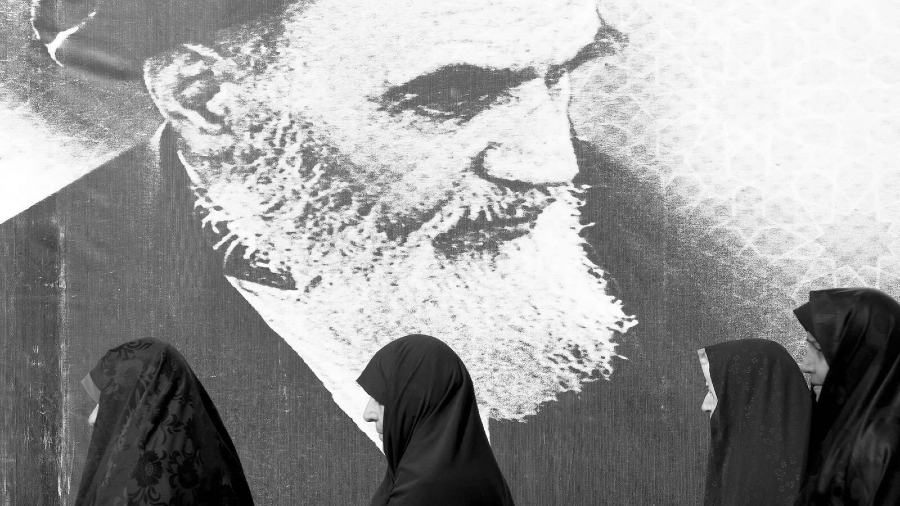 Iran ayatola jomeini ciudad la-tinta