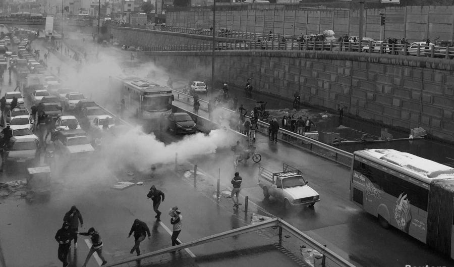 Iran protestas contra el gobierno la-tinta