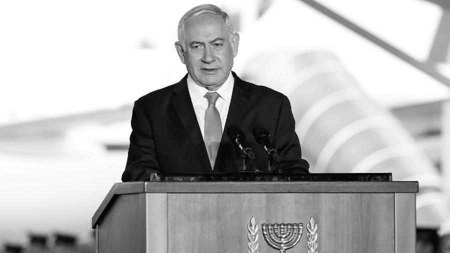 Israel primer ministro Netanyahu la-tinta