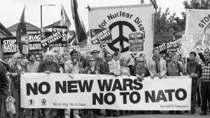 Sus guerras, nuestras vidas: el regreso del movimiento antimilitarista