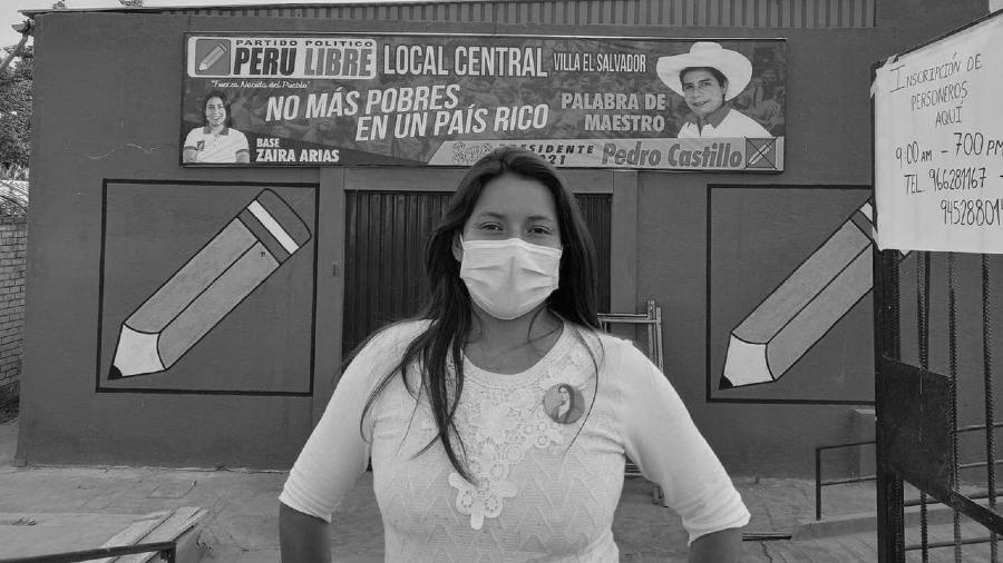 Peru Zaira Arias Peru Libre la-tinta