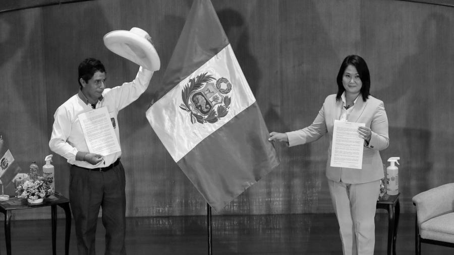 Peru candidatos presidenciales segunda vuelta la-tinta