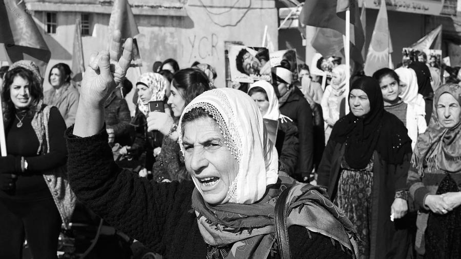 Siria Afrin mujeres yezidies la-tinta
