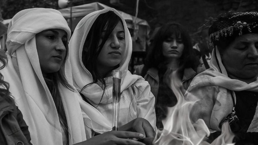 Siria mujeres yezidies la-tinta