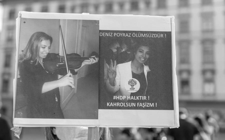 Turquia Deniz Poyraz asesinato la-tinta