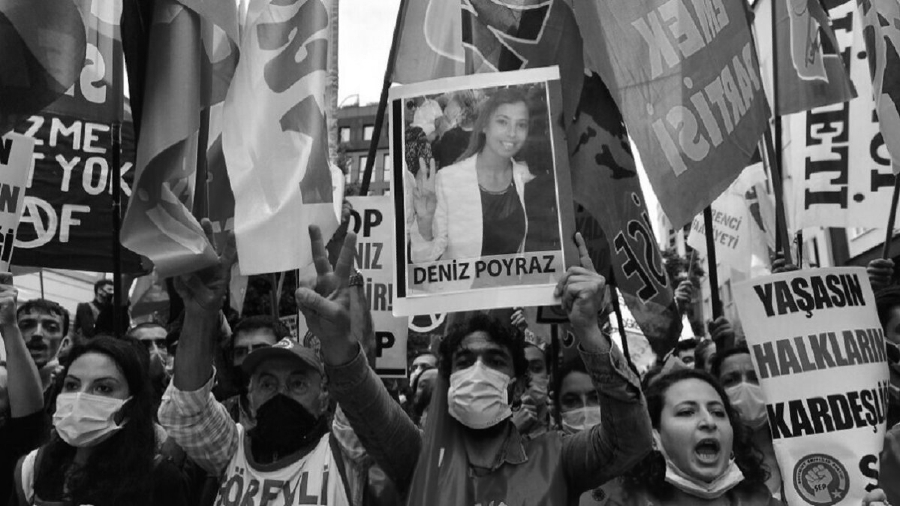 Turquia protesta Deniz Poyraz la-tinta