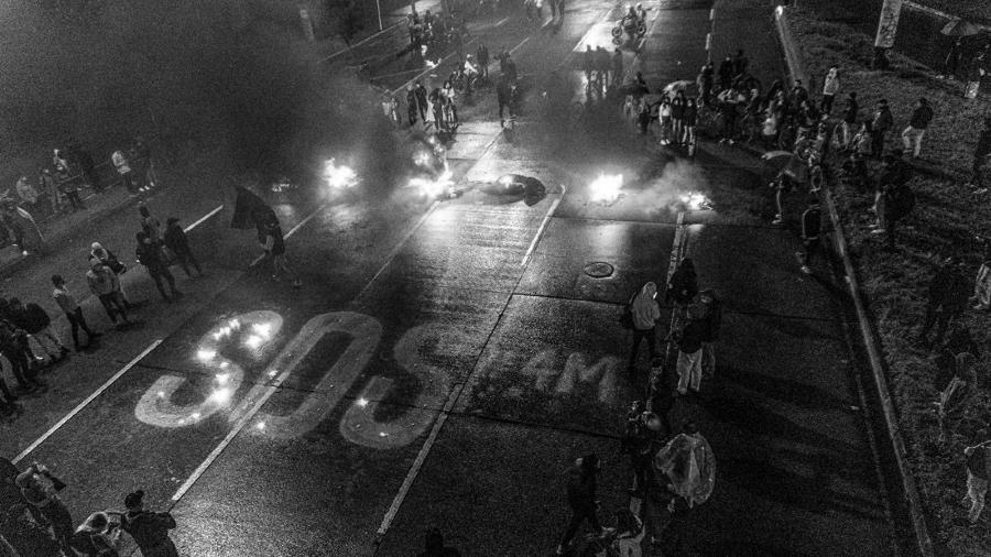 colombia sos represion la-tinta