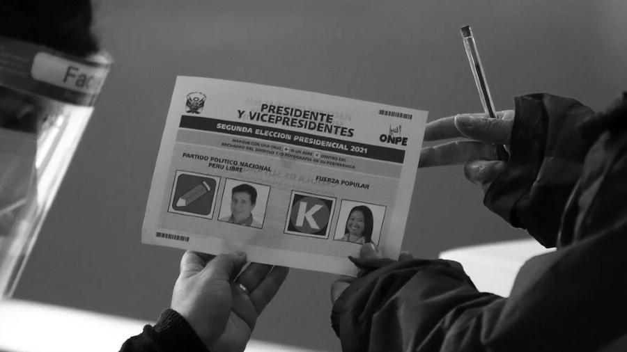 pero boleta electoral segunda vuelta la-tinta