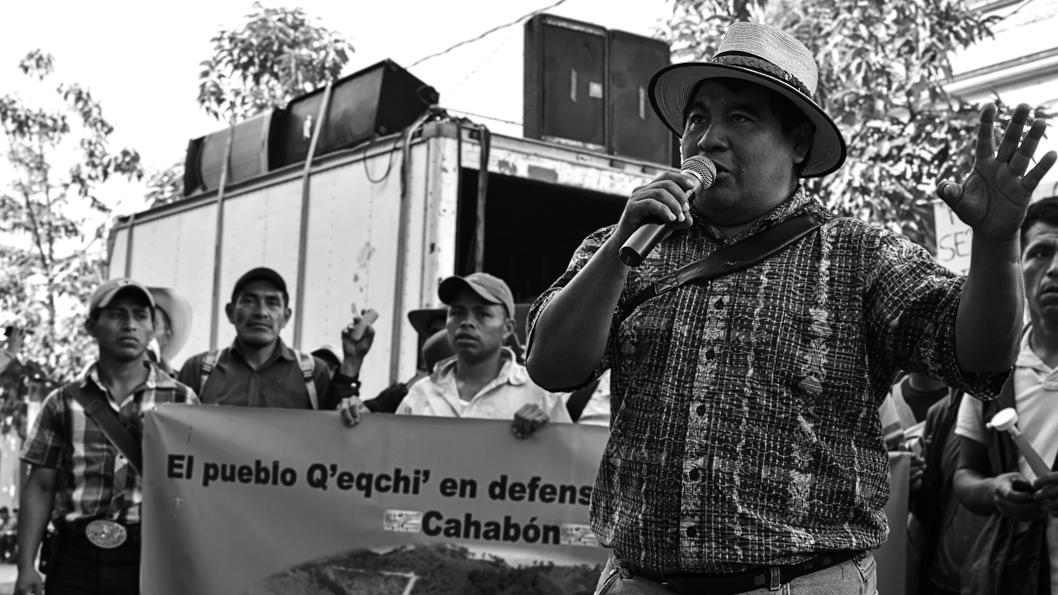 rio-contaminación-Guatemala-líder-comunitario-Bernardo-Caal-Xol-comunidad-indígena-maya-q'eqchi'-6