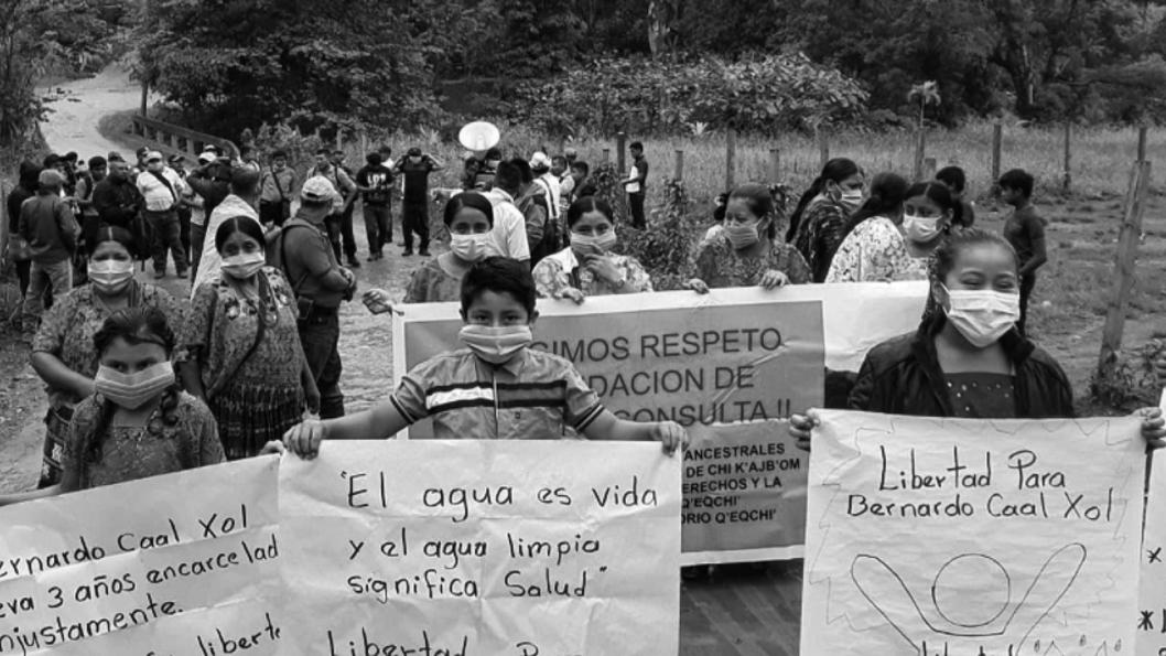 rio-contaminación-Guatemala-líder-comunitario-Bernardo-Caal-Xol-comunidad-indígena-maya-q'eqchi'-7