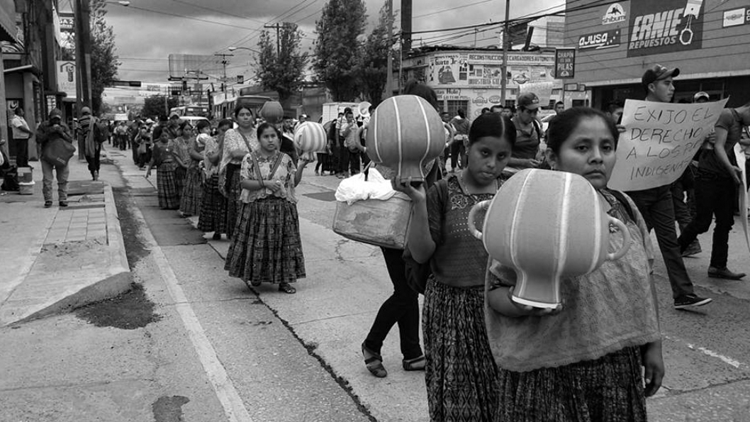 rio-contaminación-Guatemala-líder-comunitario-Bernardo-Caal-Xol-comunidad-indígena-maya-q'eqchi'
