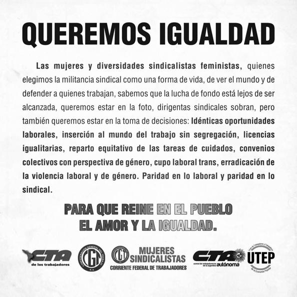 sindicalistas-Moyano-cupo-mujeres-paridad-genero-feminismo