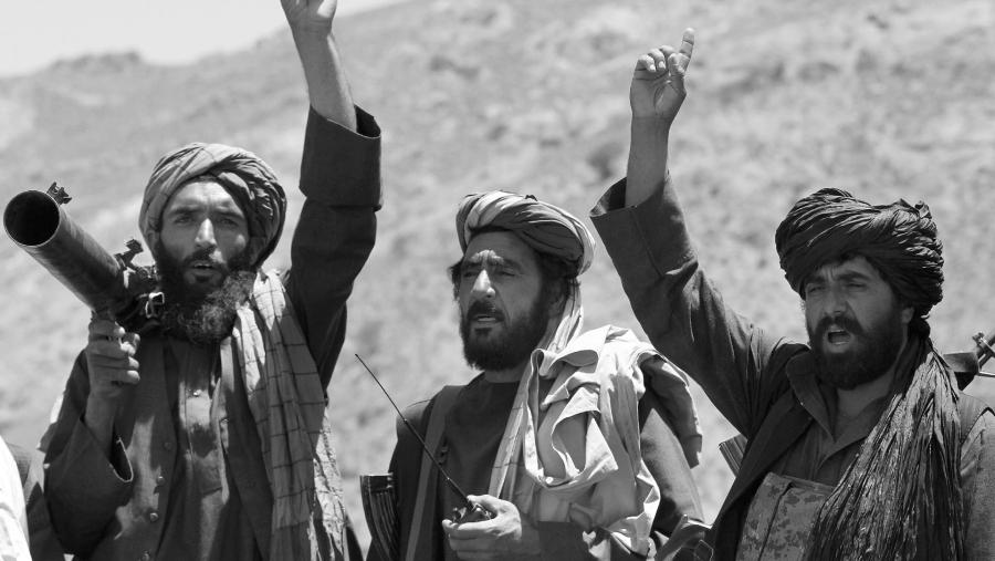 Afganistan milicianos del Taliban la-tinta