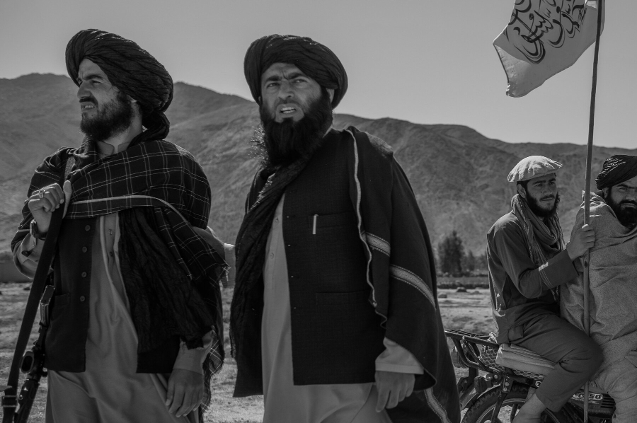 Afganistan militantes Taliban la-tinta