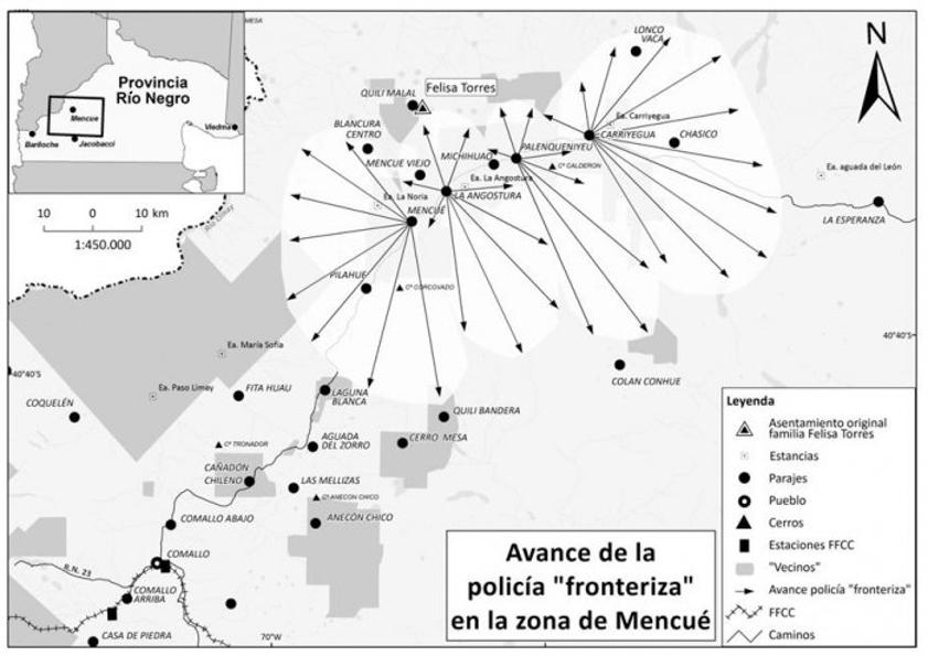 Campaña-Desierto-mapuche-patagonia-avance-policia-fronteriza-mencué