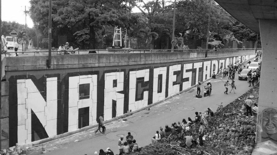 Colombia protesta contra el narcoestado la-tinta