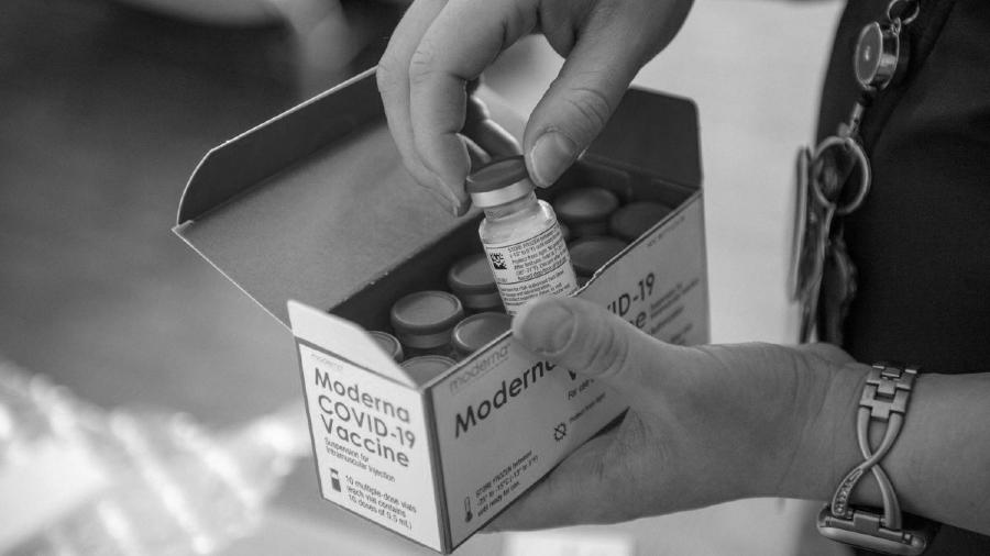 Covid vacunas Moderna la-tinta