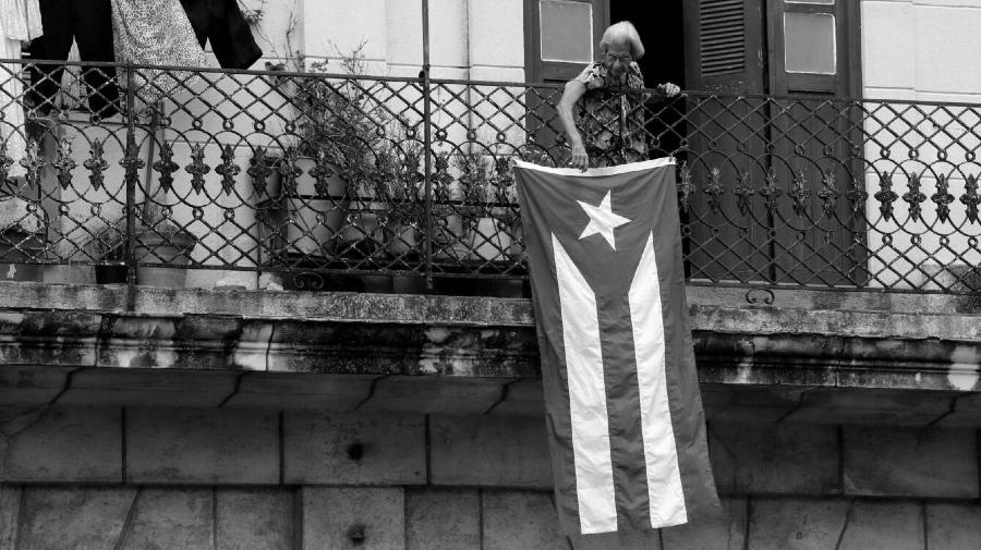 Cuba La Habana bandera la-tinta
