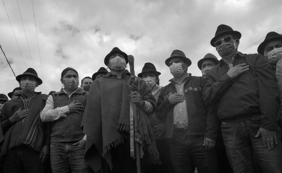 Ecuador Leonidas Iza dirigencia Conaie la-tinta