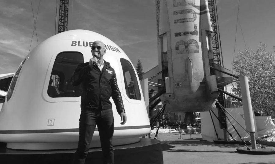 Estados Unidos Jeff Bezos viaja al espacio la-tinta