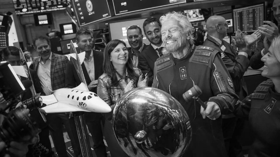 Estados Unidos Richard Branson viaje espacial la-tinta