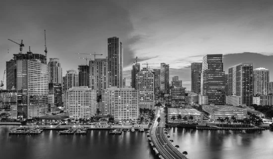 Estados Unidos ciudad de Miami la-tinta