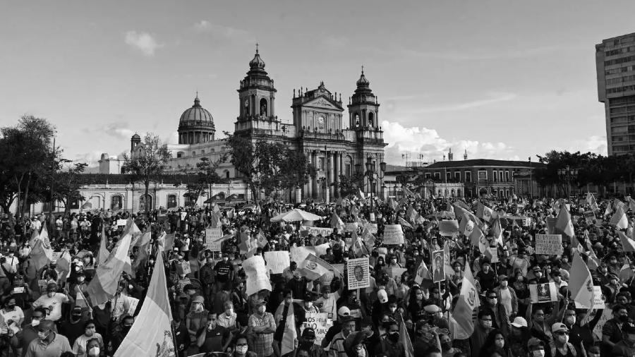 Guatemala protestas contra presidente la-tinta