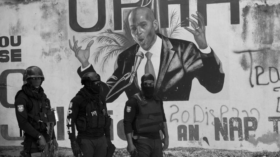 Haiti Moise militarizacion la-tinta