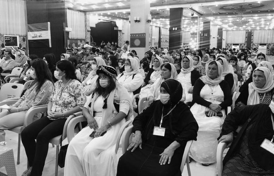 Irak Shengal Congreso delegadas autogobierno la-tinta