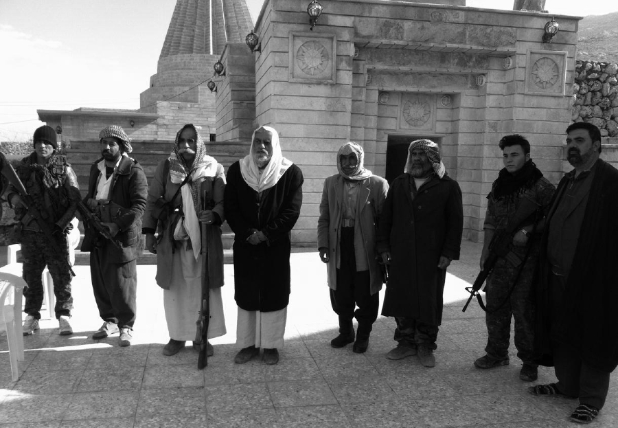 Irak shengal poblacion yezidi la-tinta