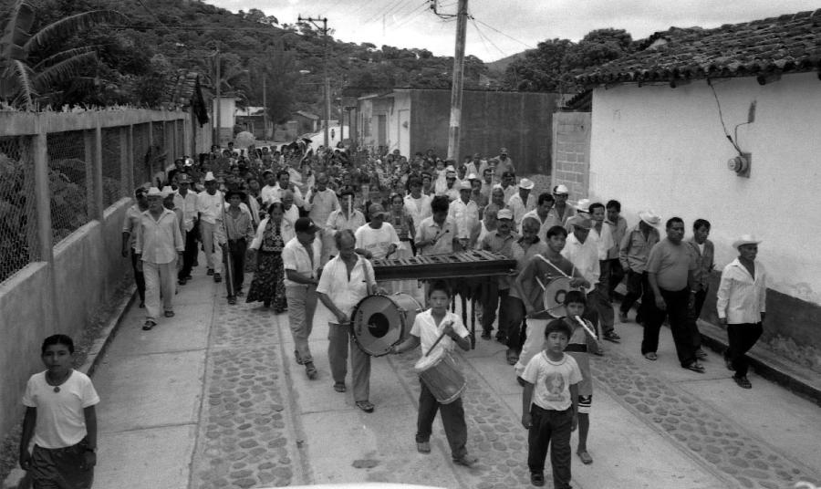 Mexico pueblo de Chimapala la-tinta
