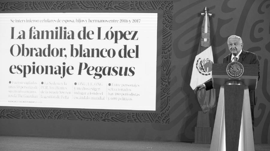 Pegasus espionaje Lopez Obrador la-tinta