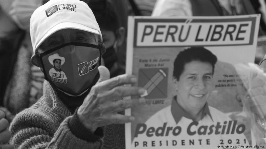 Pero Pedro Castillo movilizacion la-tinta