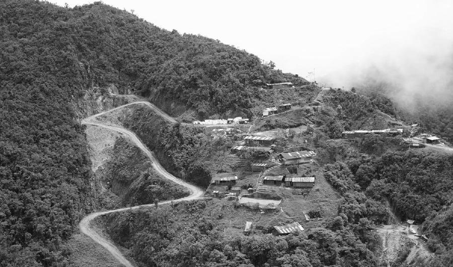 Peru El Cenepa poblacion la-tinta