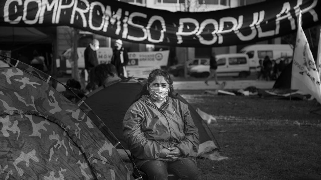 acampe-milagro-sala-plaza-mayo