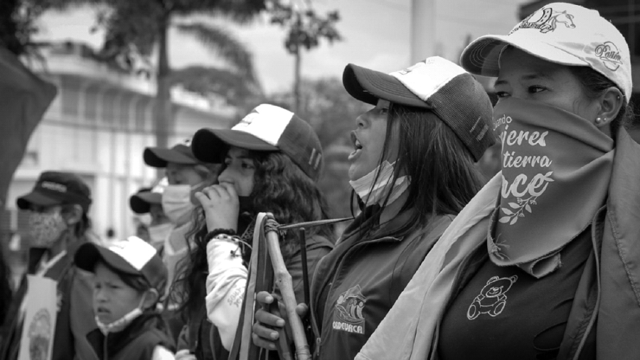 colombia mujeres en lucha la-tinta