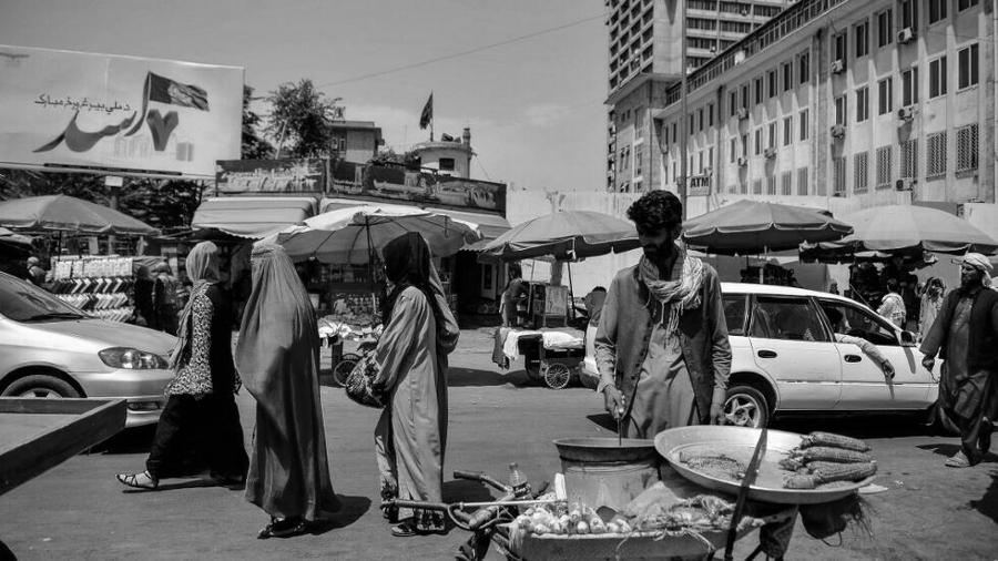 Afganistan kabul calles la-tinta