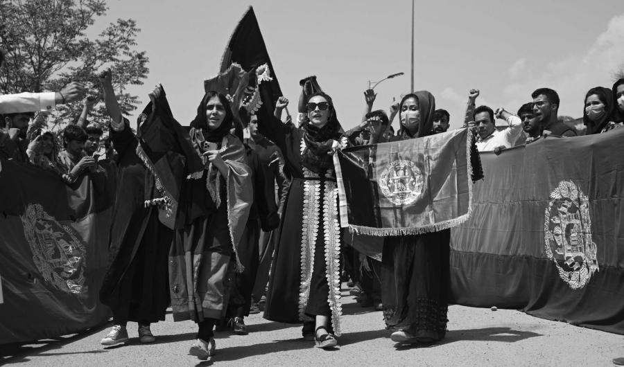 Afganistan protestas contra talibanes la-tinta