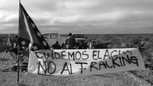Neuquén: comunidades mapuche bloquean accesos a Vaca Muerta contra el fraking y en defensa de la vida y del agua