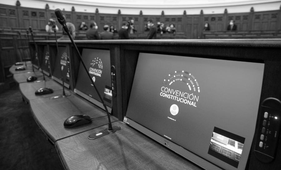 chile convencion constitucional recinto la-tinta