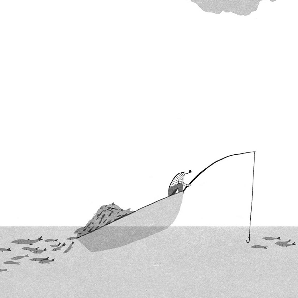 ilustración-marineros-Pizarnik-Saudade