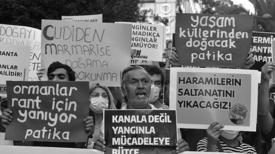 turquia ecologistas marcha la-tinta