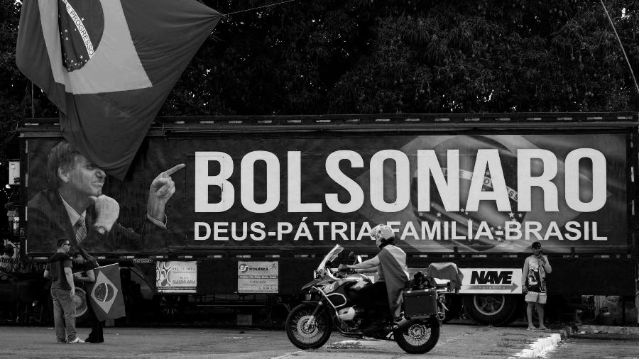 Brasil Bolsonaro Dios Patria Familia la-tinta