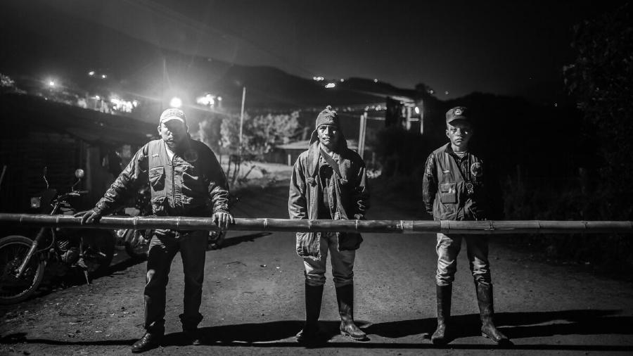 Colombia Cauca guardia campesina la-tinta
