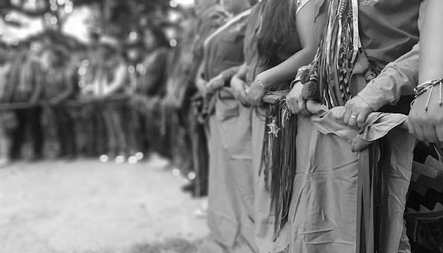 Colombia Guardia Indigena la-tinta