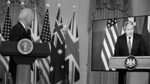 Washington, Canberra y Londres contra Beijing, Bruselas y París